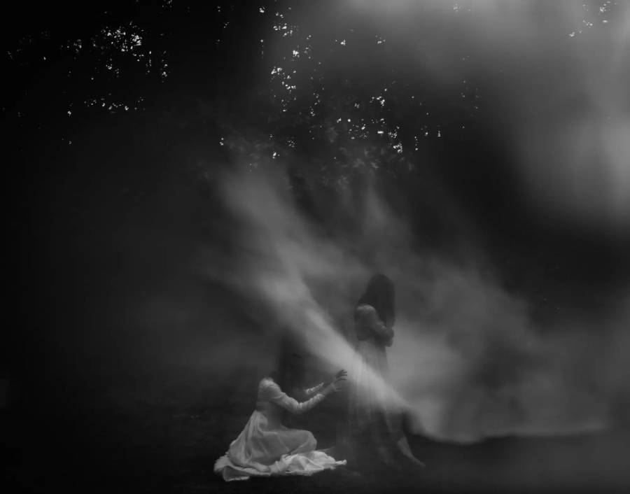 Black & white conceptual photography