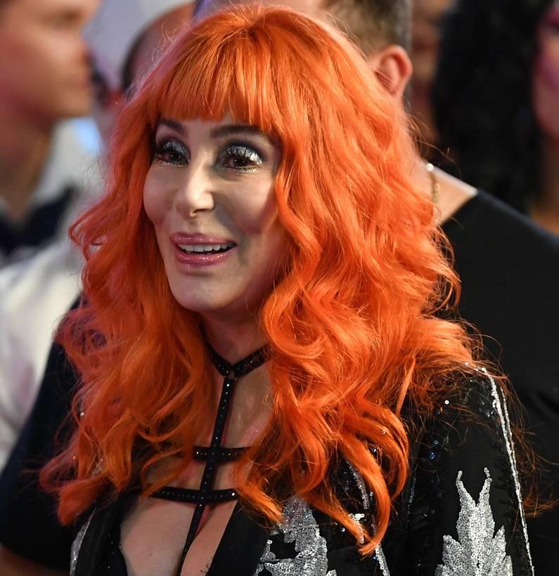 Cher Orange Hair