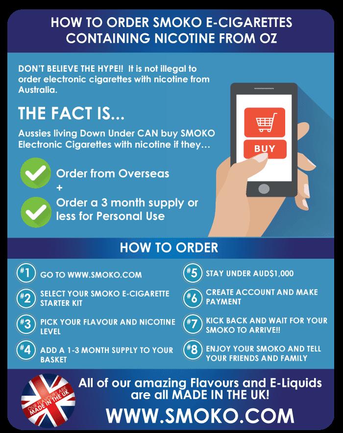 Australia Best E-Cigarette VAPE Pens | FREE delivery orders