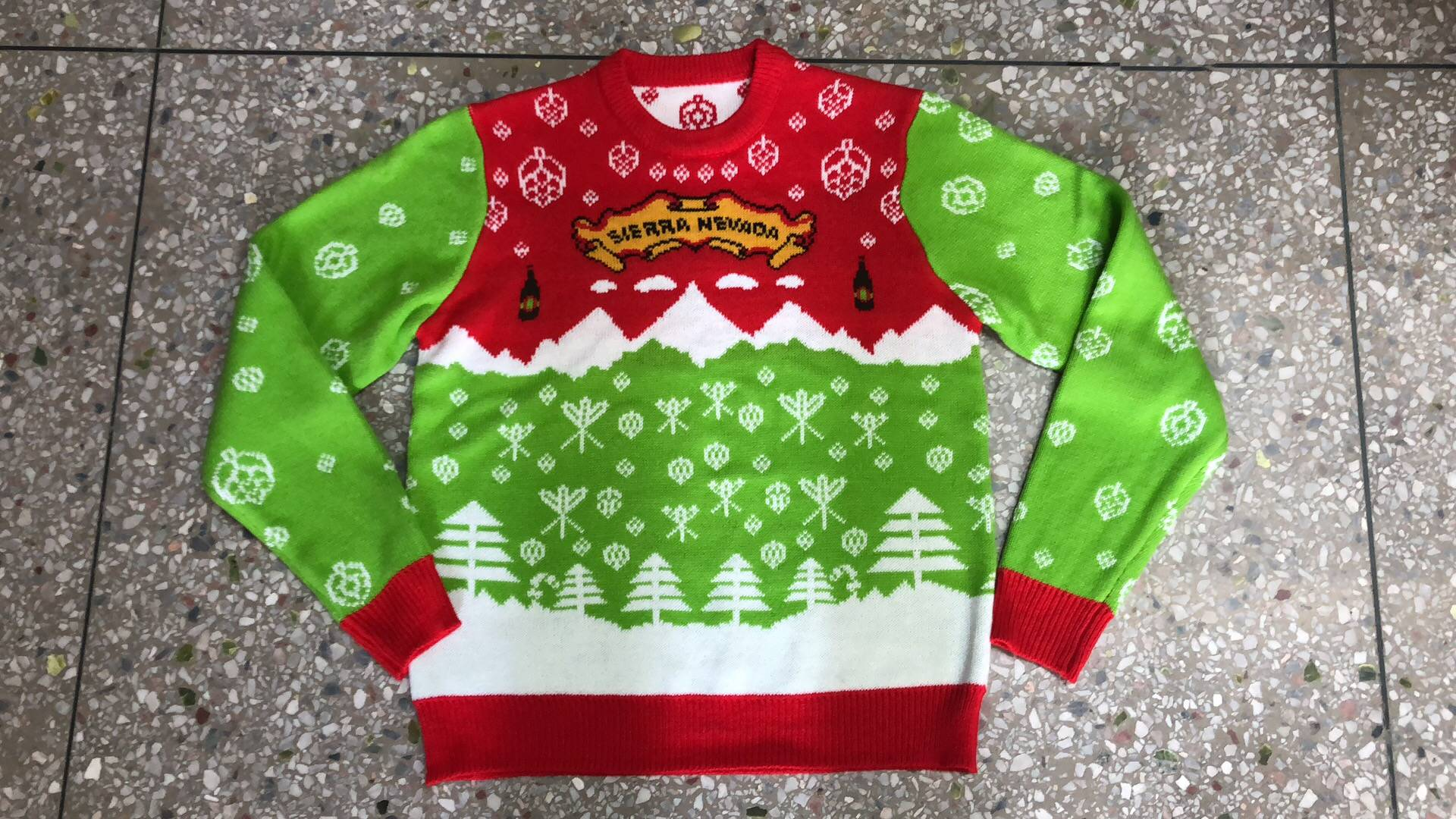 Sierra Nevada Custom Christmas  Sweater
