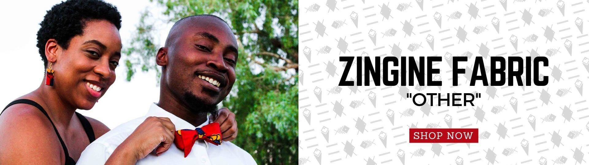 Zingine (Swahili Translation = Other) Fabric Collection from Ceiphers Clothing