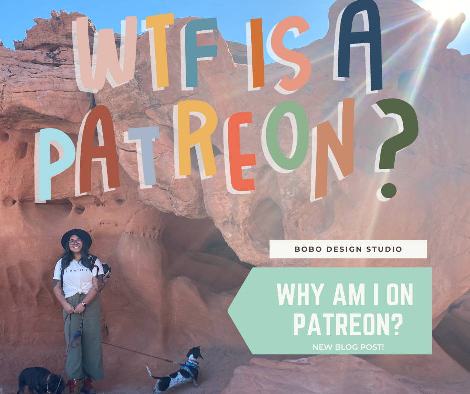 What is Patreon and why is bobo design studio there?