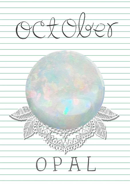 Birthstone - October - Opal - That Ring Shop