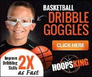 Basketball dribble goggles