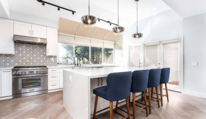 Quality Malibu White Shaker Cabinets