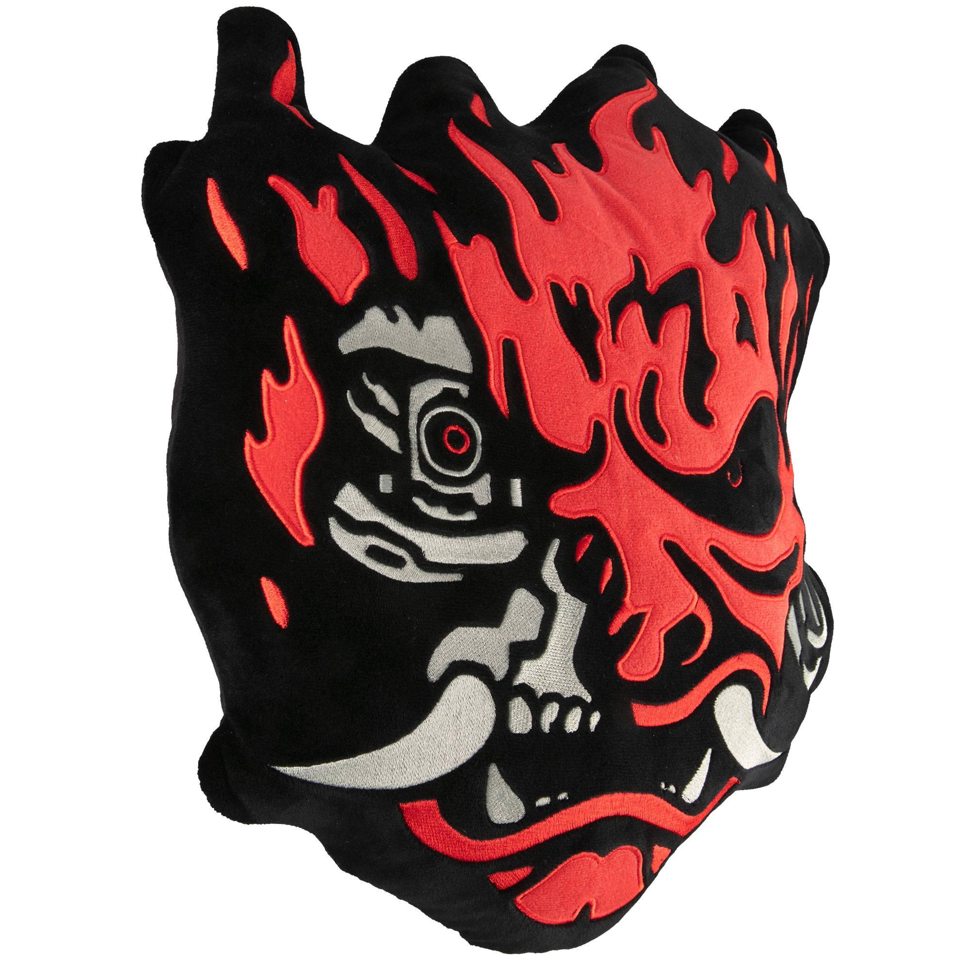 Product image of the Cyberpunk 2077 Samurai Pillow Plush