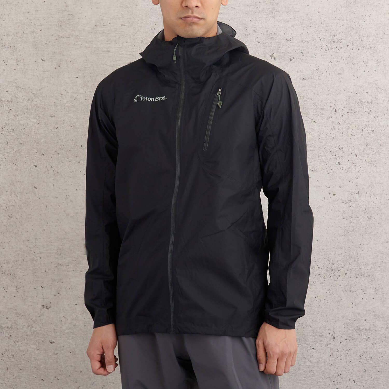 Teton Bros.(ティートンブロス)/フェザーレインフルジップジャケット2.0/ブラック/UNISEX