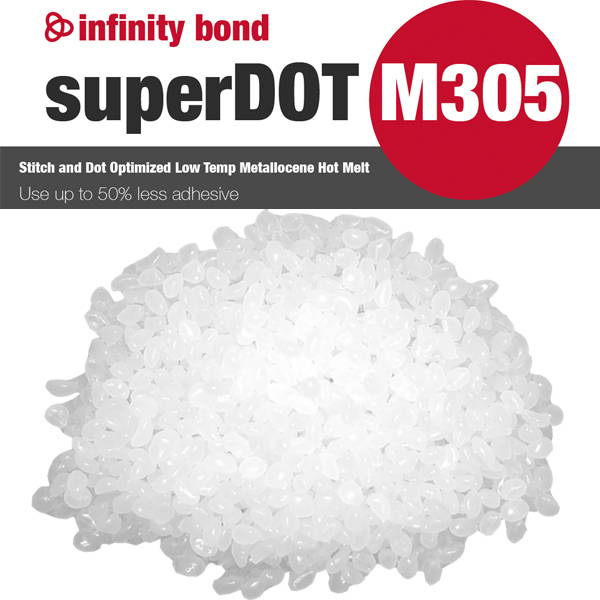 Infinity Bond superDot M305 Stitch and Dot Optimized Low Temp Metallocene