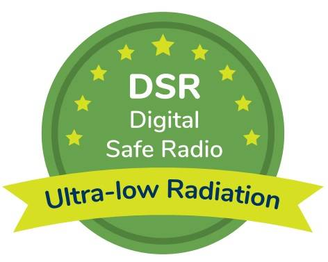 Bebcare Digital Safe Radio DSR Low emissions Technology