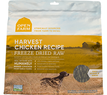 Harvest Chicken Freeze Dried Raw
