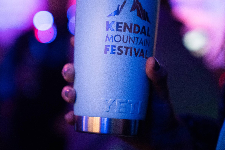 Kendal Mountain Festival custom YETI Rambler 20oz Tumbler