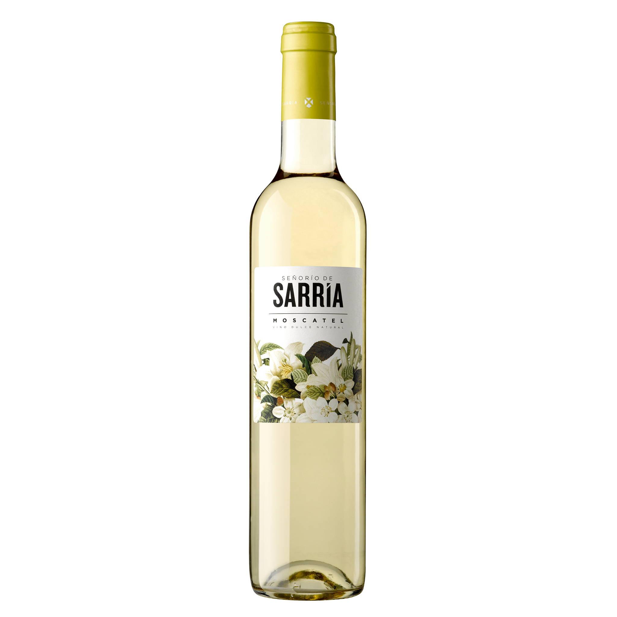 Señorío de Sarría Moscatel Spanish wines  distributed by Beviamo International in Houston, TX