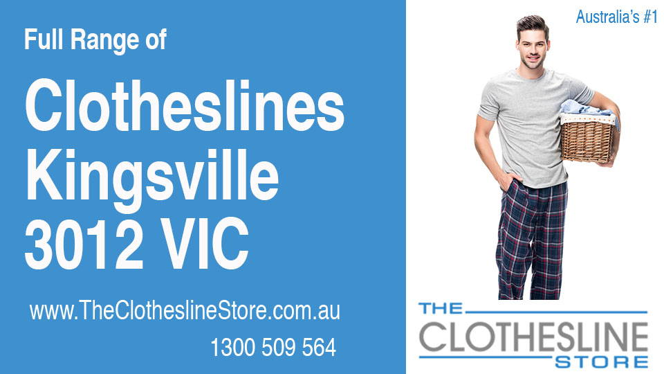 New Clotheslines in Kingsville Victoria 3012
