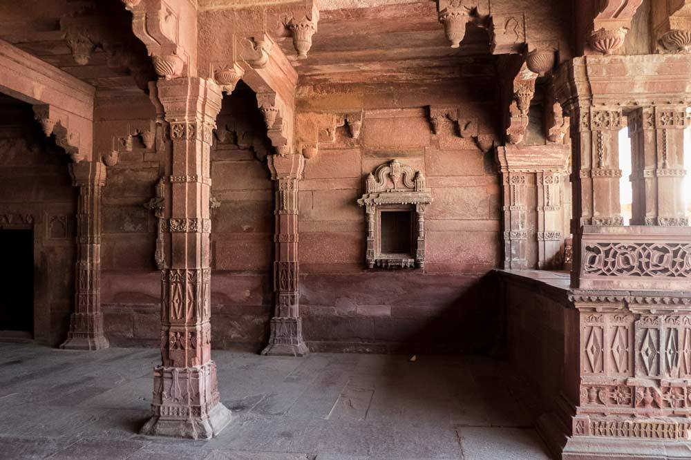 Travelbay India Tours - Customer Reviews - Simon & Gina in India - Fatehpur Sikri