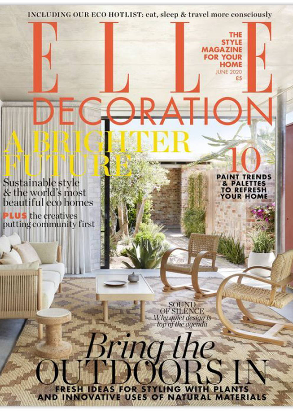 Elle Decor UK June 2020 Issue Cover