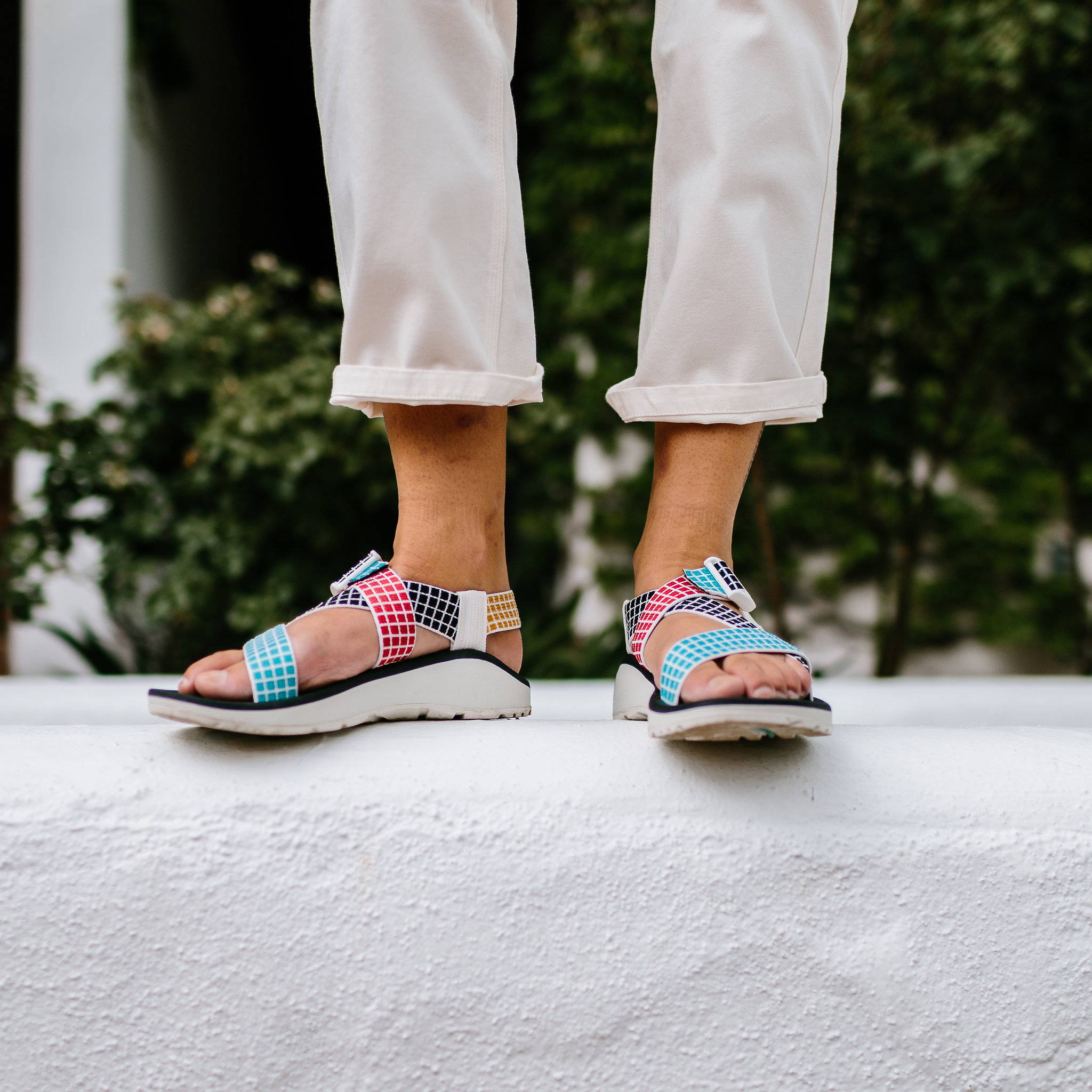 92742e0d4cf This exclusive run of products is a perfect combination of Topo Designs and  Chaco s love for graphic elements