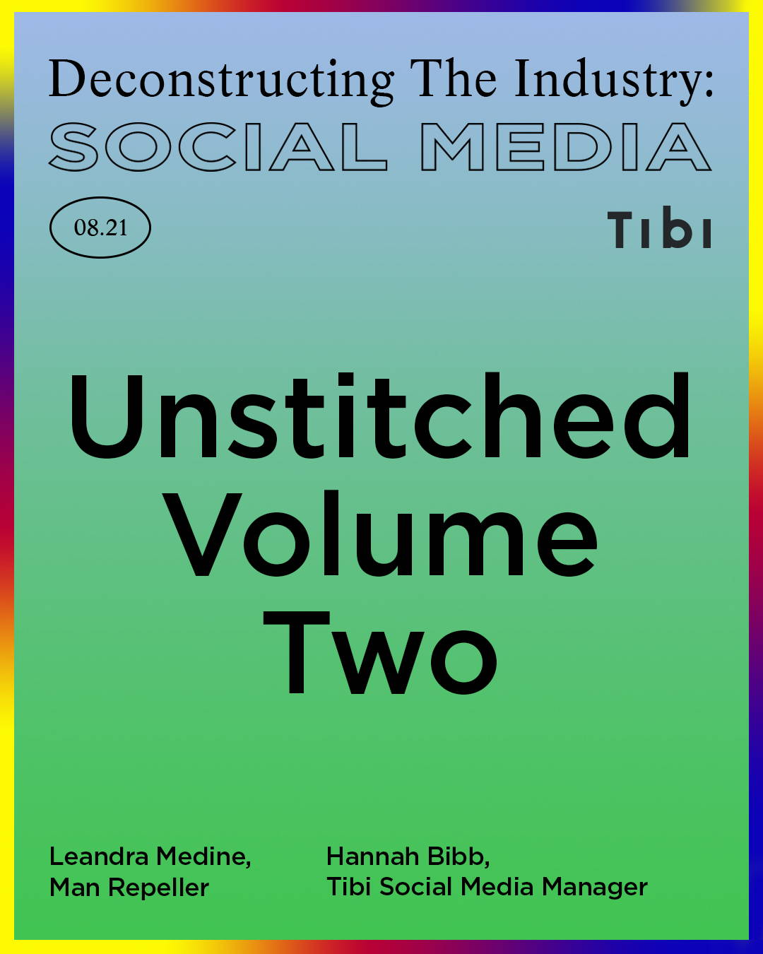 Unstitched Volume 2 invitation