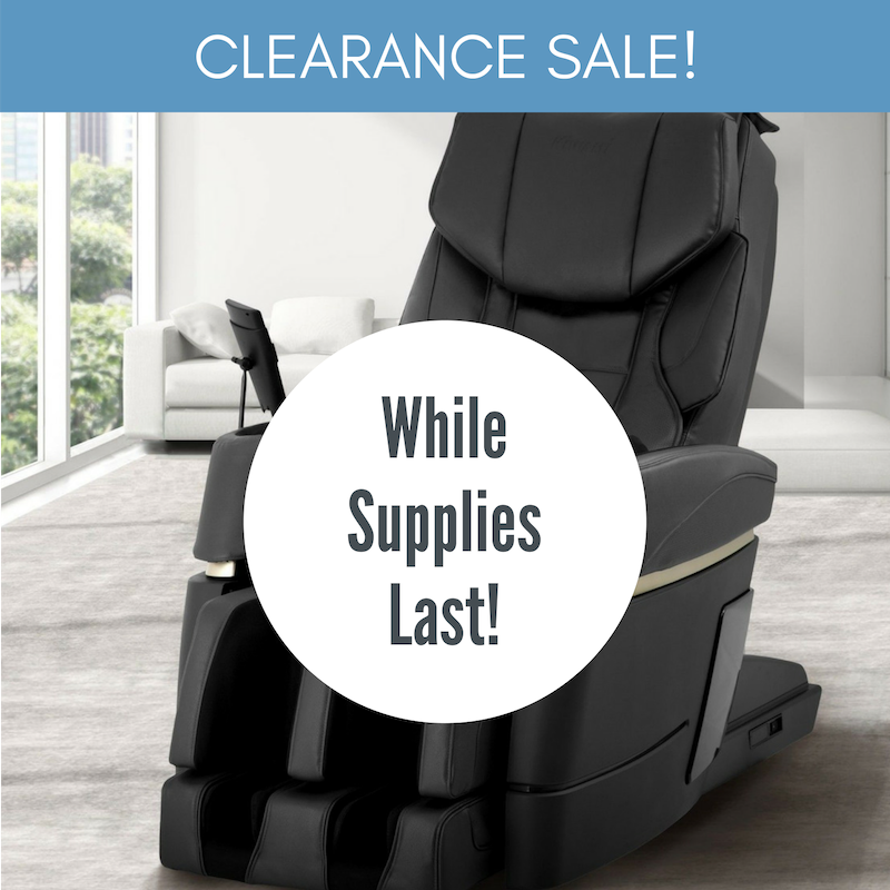 Massage Chairs on Clearance