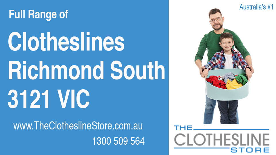 New Clotheslines in Richmond South Victoria 3121