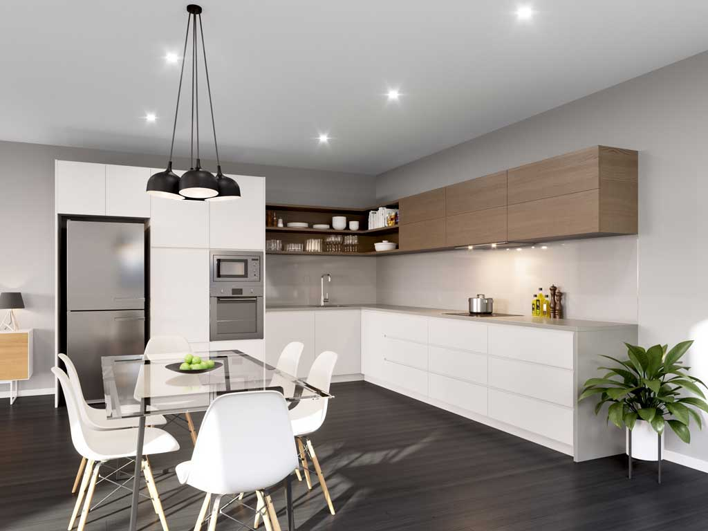 Online kitchens from The Blue Space customisable