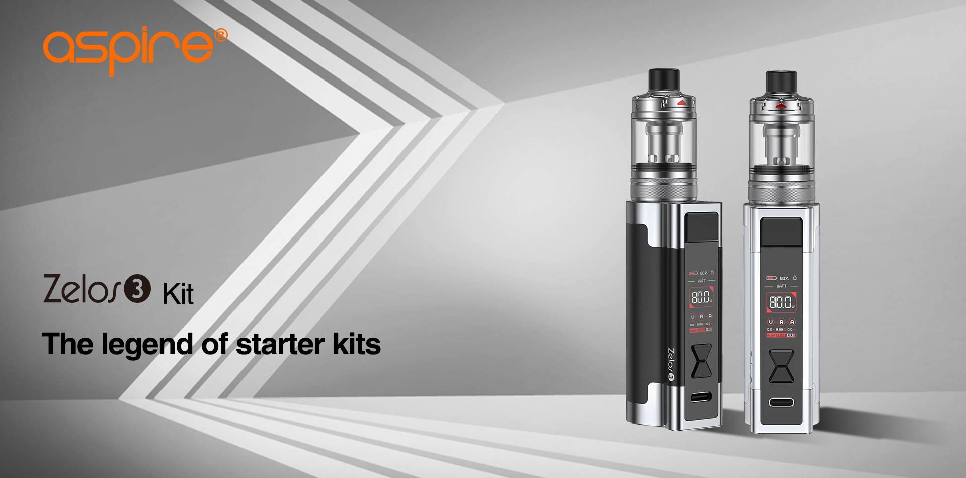 Zelos 3 | Aspire MTL Device | Buy Aspire Starter Kits Online