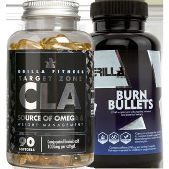 Burn Bullets & Target Zone CLA Stack