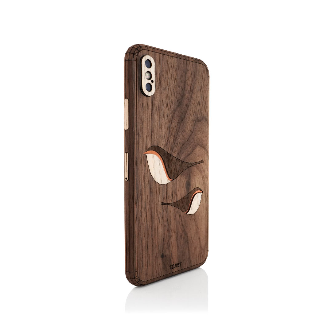 TOAST - Handmade Wood Covers for iPhone, Laptop, Razer | USA