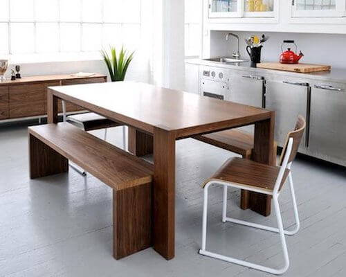Gus* Plank Dining Bench