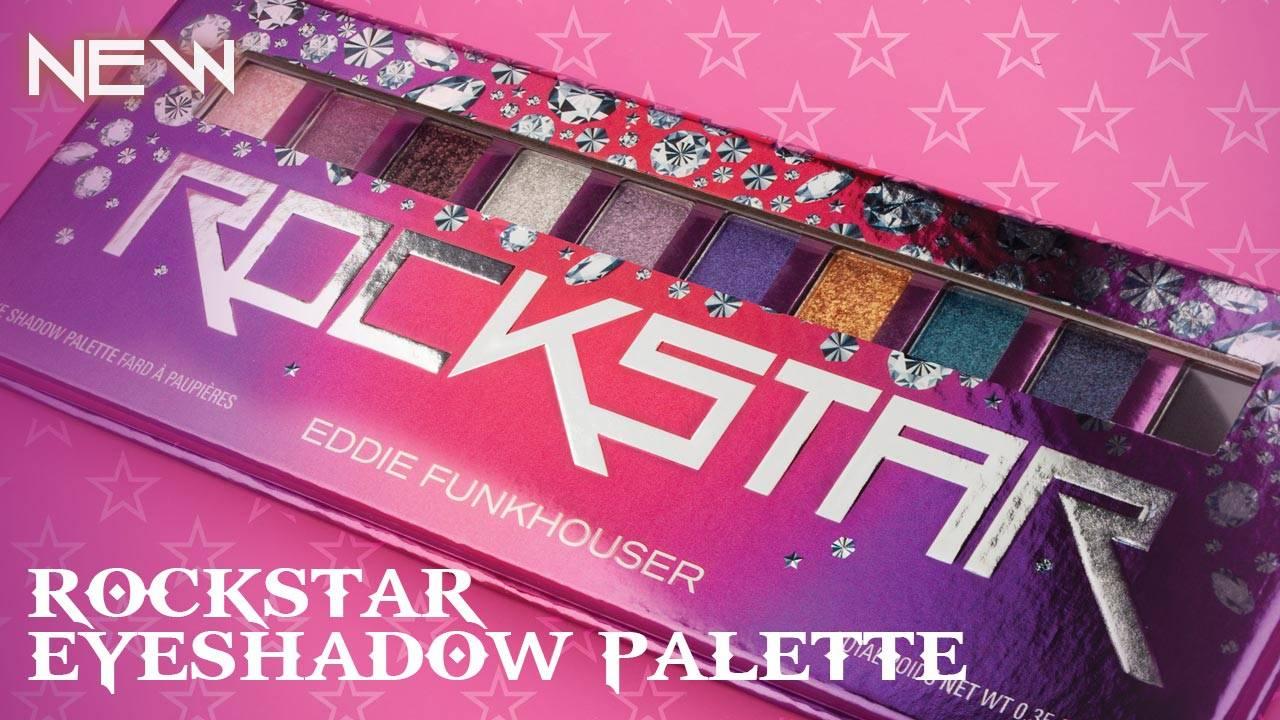 Eddie Funkhouser Cosmetics Rockstar Eyeshadow Palette