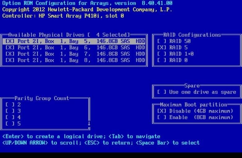 HP P410/P410i Array Configuration Guide – TechMikeNY