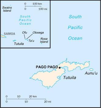 AMERICAN SAMOA (COUNTRY DATABASE)