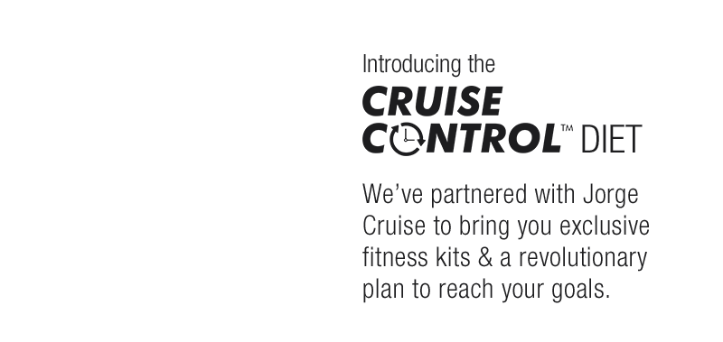 Explore the Cruise Control Diet with Jorge Cruise