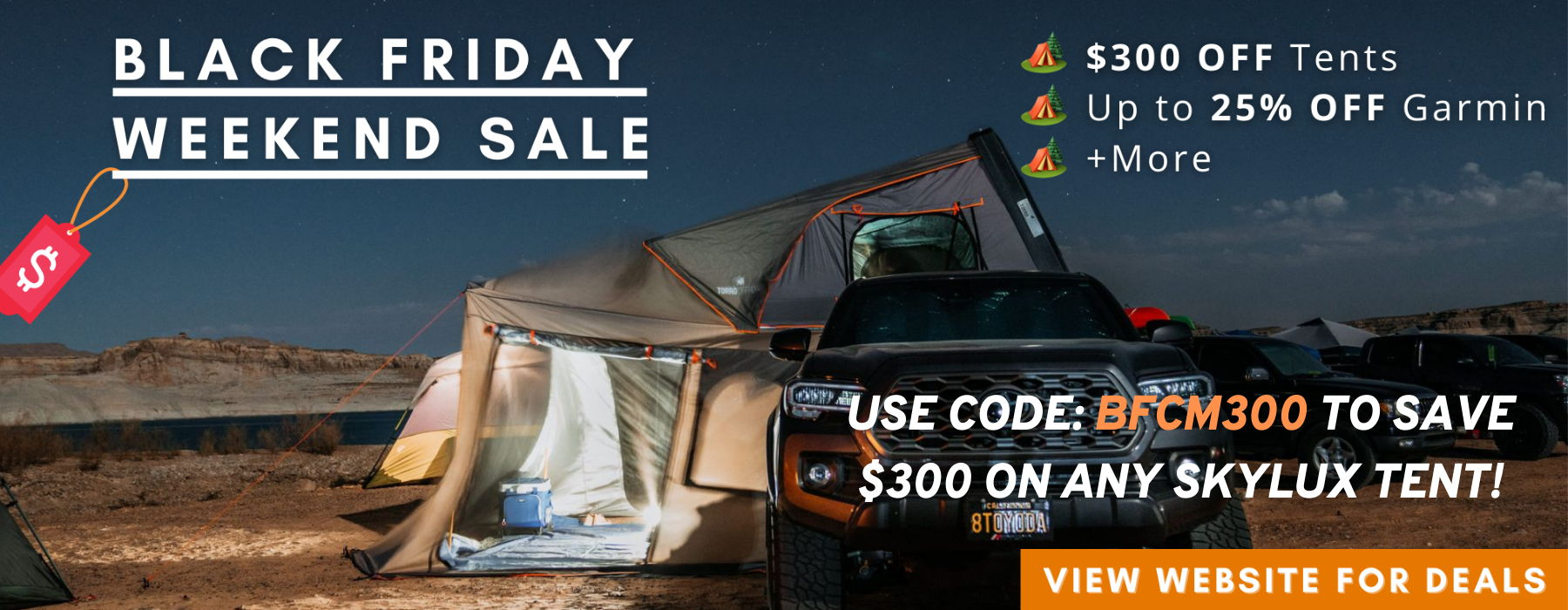 torro offroad skylux tent black friday cyber monday sale