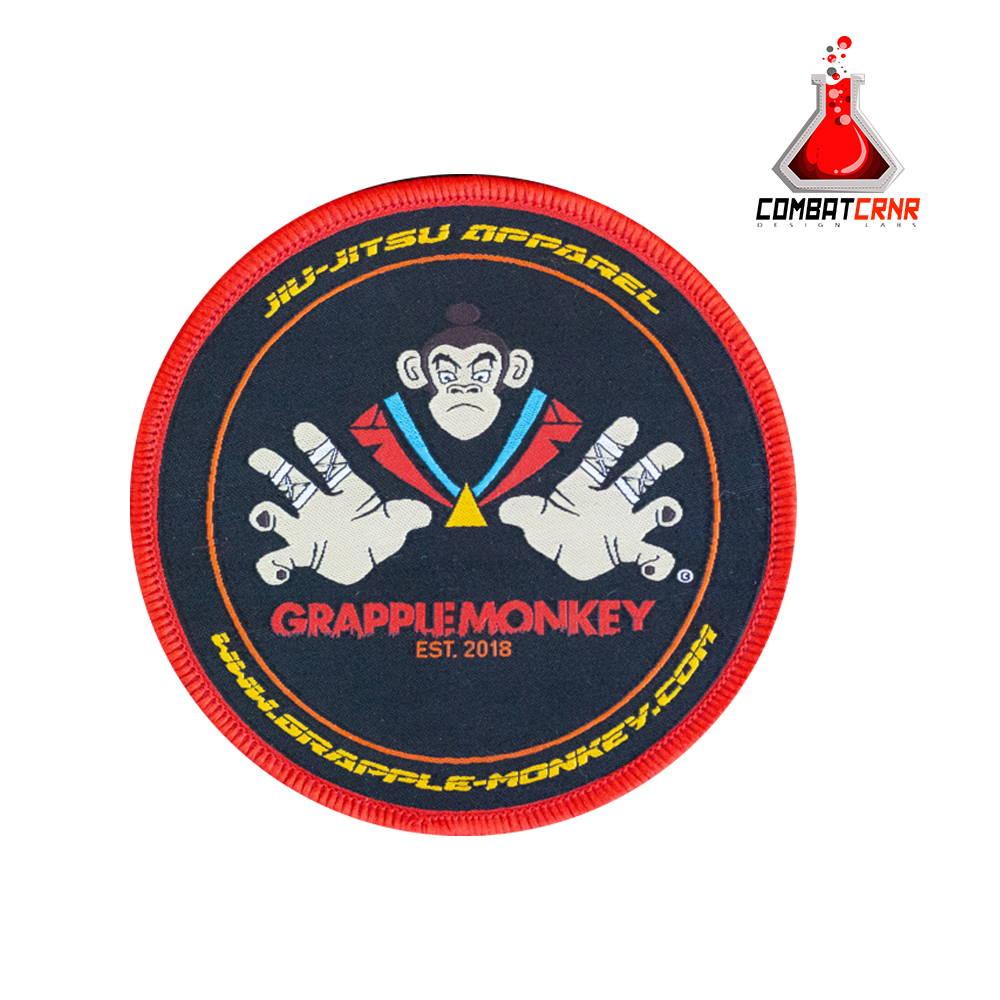 woven bjj badge patch