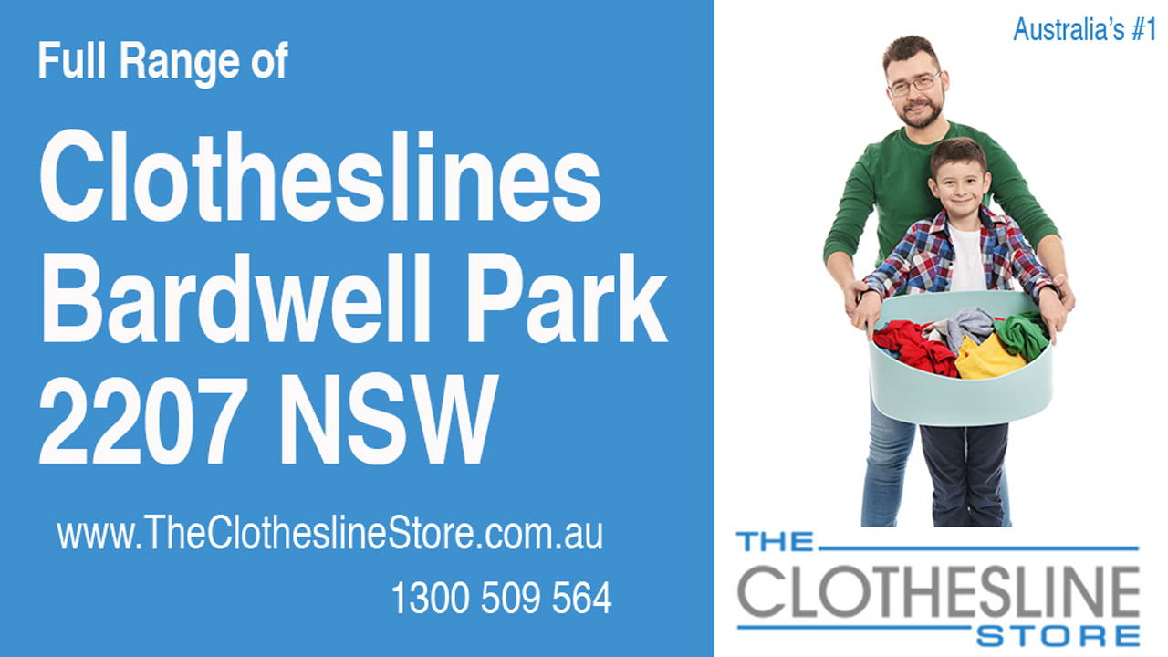 Clotheslines Bardwell Park 2207 NSW