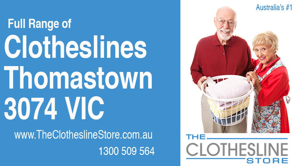 New Clotheslines in Thomastown Victoria 3074
