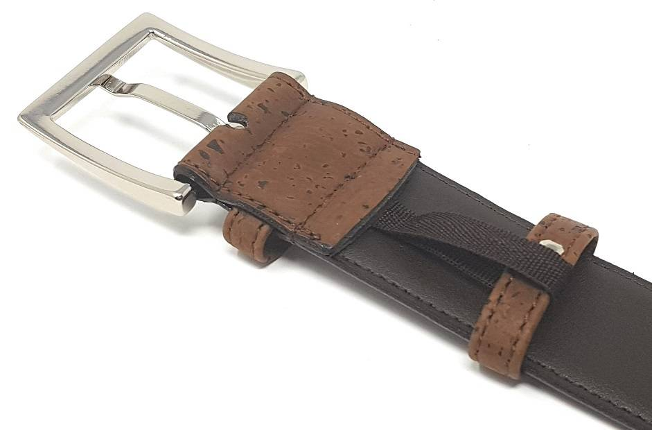 cork belt brown
