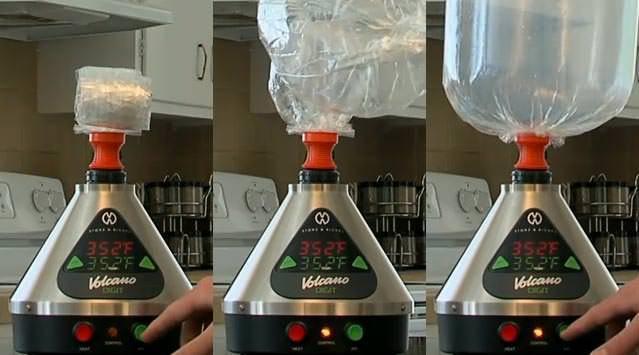 Volcano Vaporizer Balloon Expanding - DopeBoo
