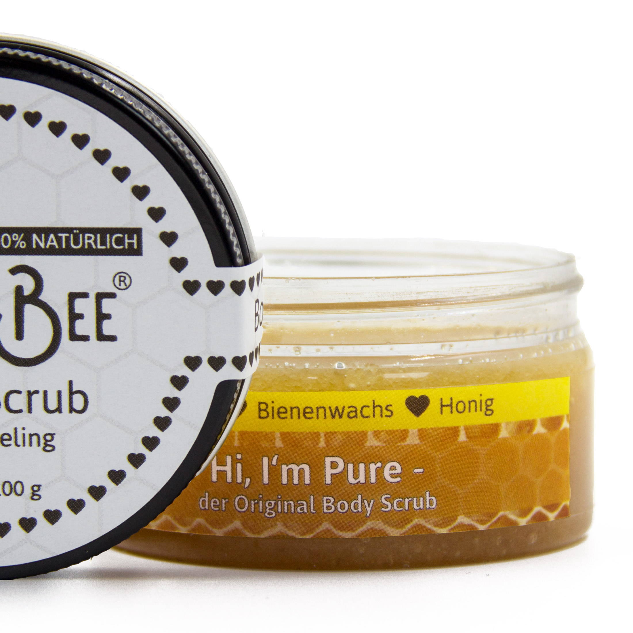 Hi, I'm Pure - The Original Body Scrub | PureBee