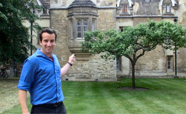 One of the trees is in the Cambridge University Botanic Garden