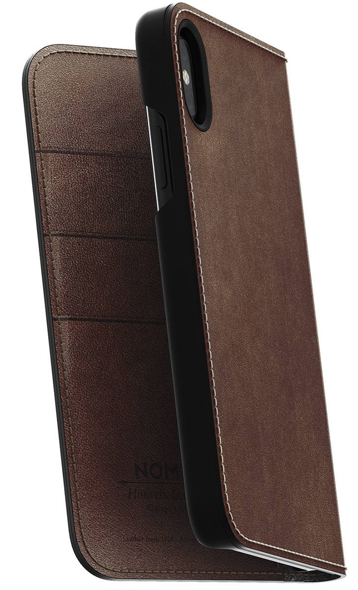 NOMAD® | Leather Folio for iPhone X