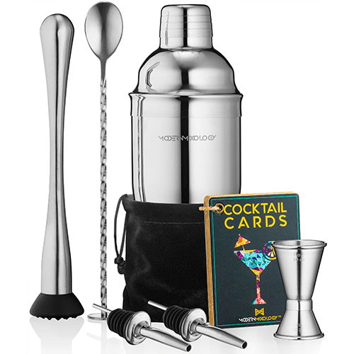 8-piece Portable Bartender Kit