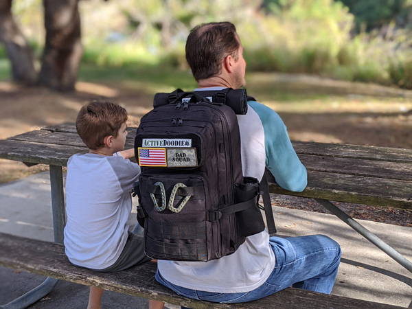 Active Doodie Dad Diaper Bags with Tactical Advantage