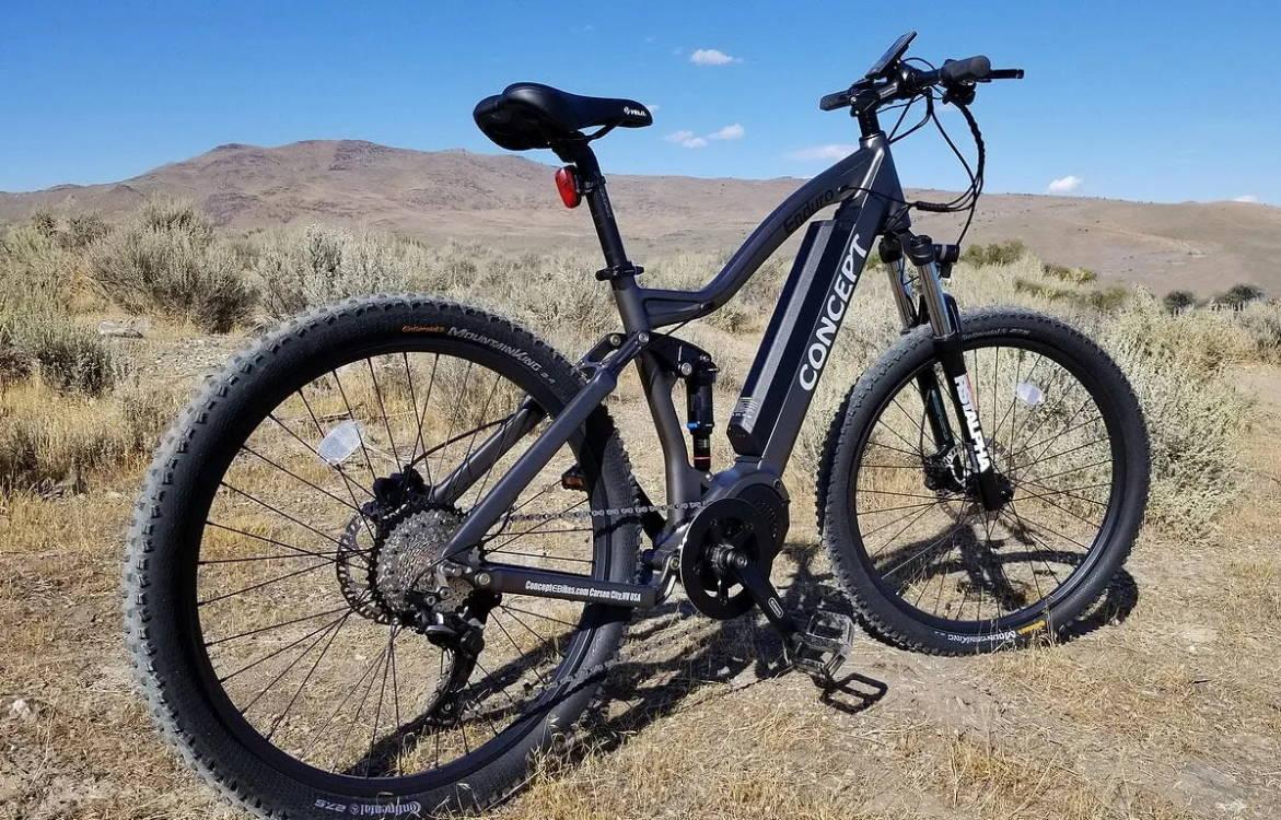 Concept E-bikes full suspension electric bikes in carson city