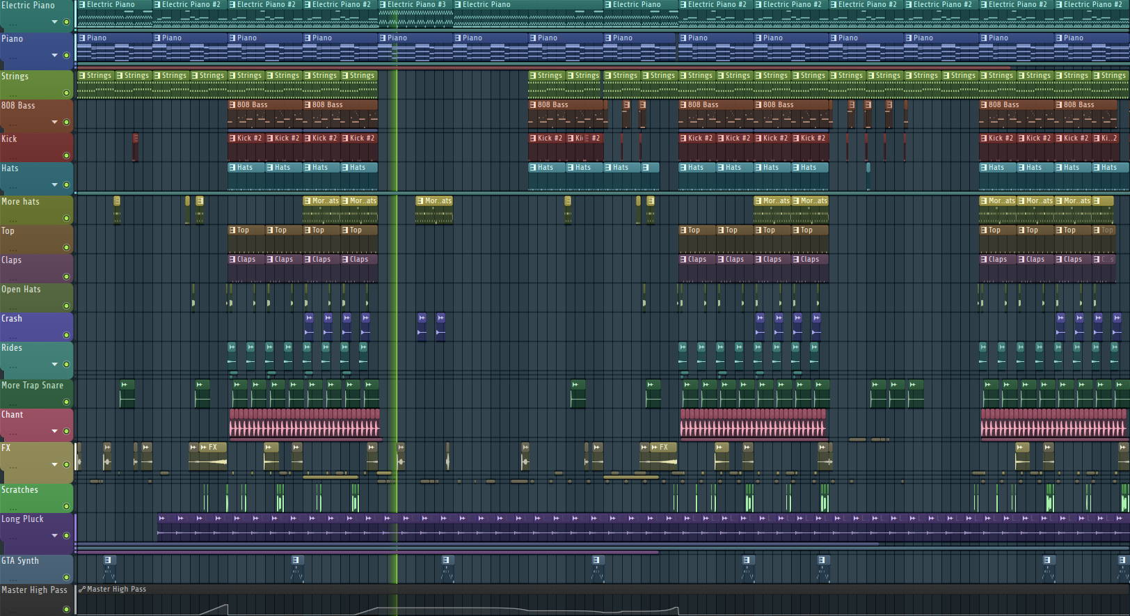 Nightmare Trap - FL Studio Project File