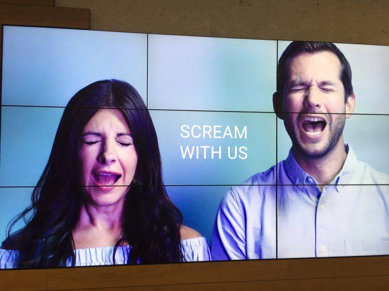 Scream With Us Screen Image