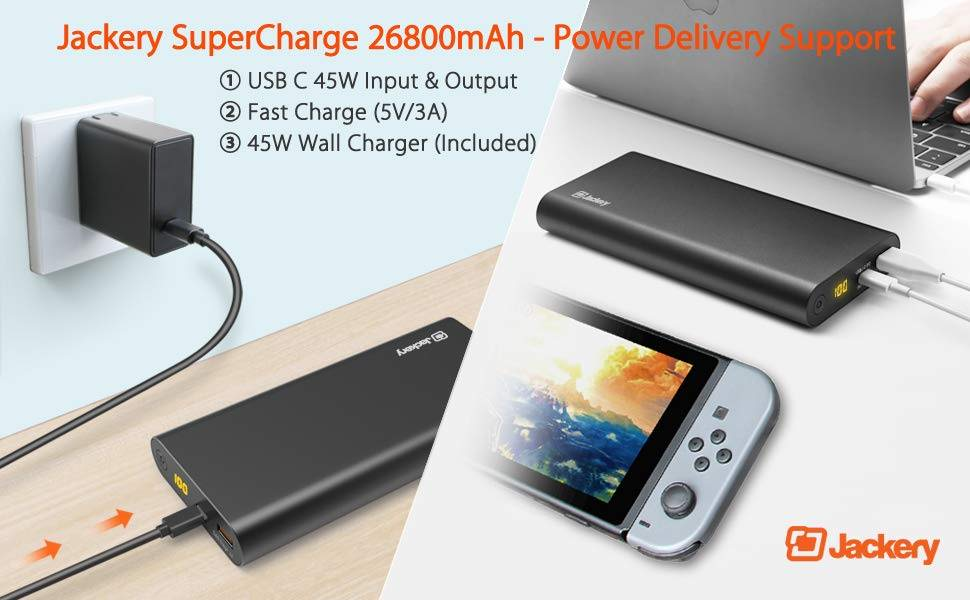 Jackery SuperCharge 26800 PD