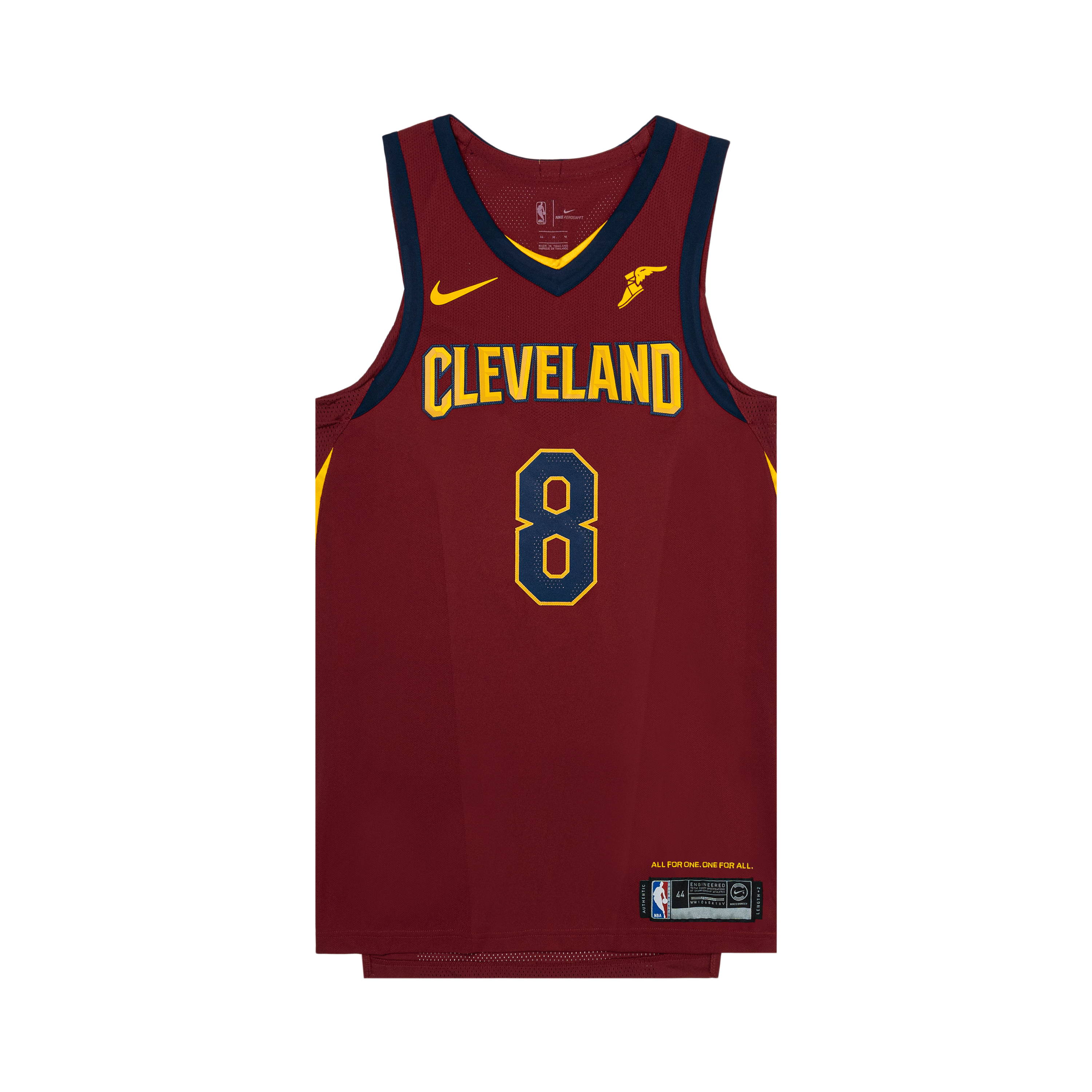 Signed #8 Daniel Arsham Icon Edition Cavs Jersey