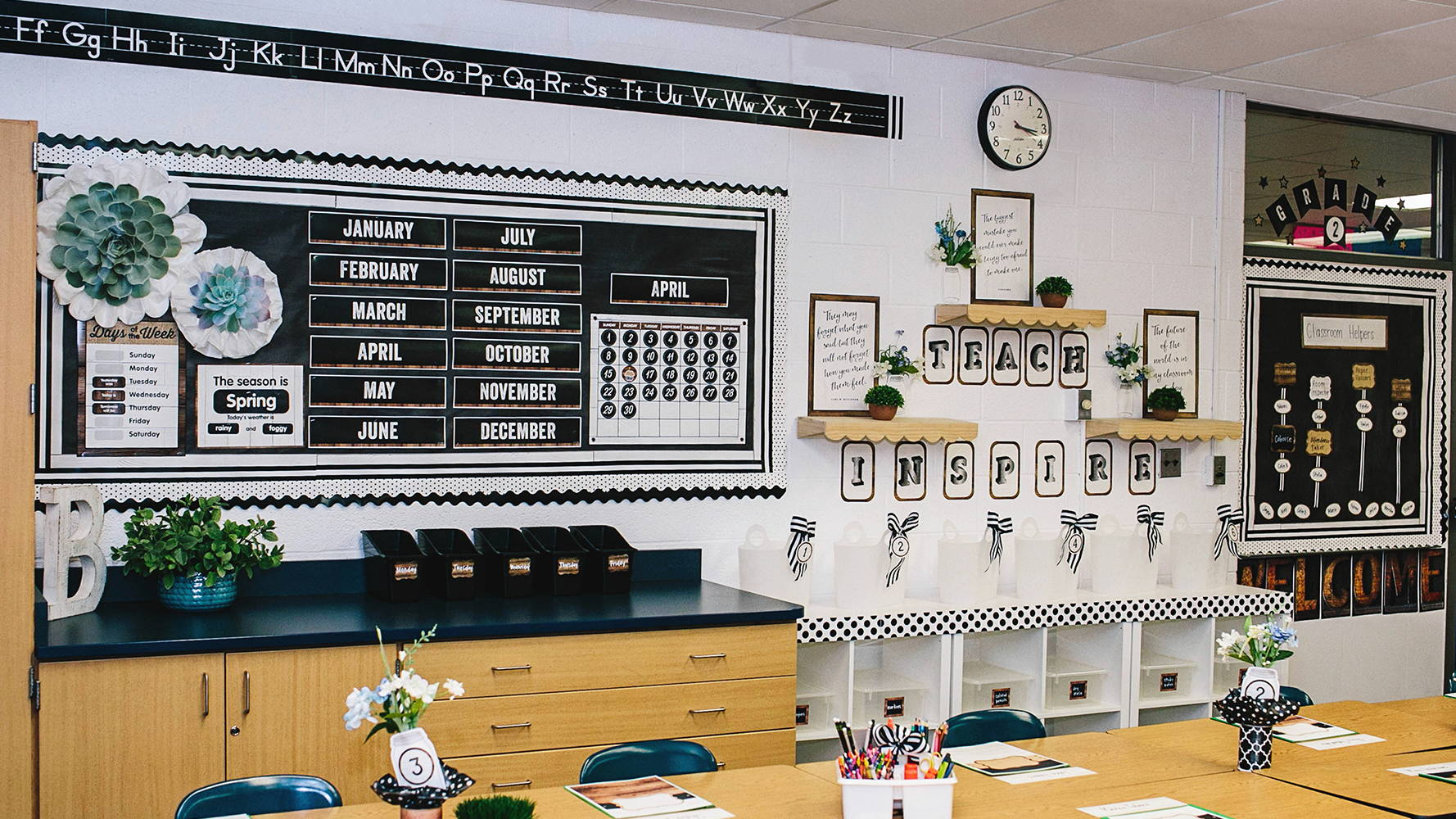 Industrial Chic Classroom