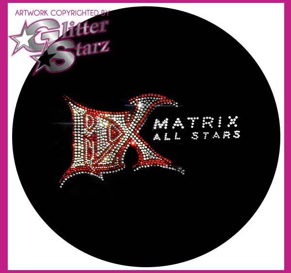 mx matrix allstars bling webstore fundraiser glitterstarz
